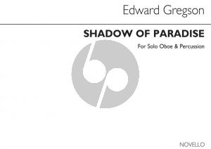 Gregson Shadow of Paradise Oboe and Percussion