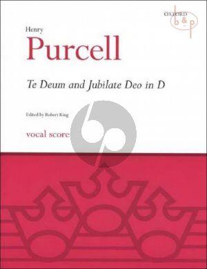 Te Deum and Jubilate Deo in D (SSATB- 2 Trp.- Strings-Bc)