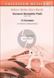 12 Sonaten Vol.2 (No.7 - 12)