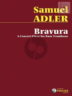 Adler Bravura (Concert Piece) Bass Trombone solo