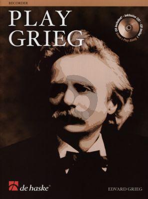 Play Grieg for Descant Recorder (Bk-Cd) (Roland Kernen)