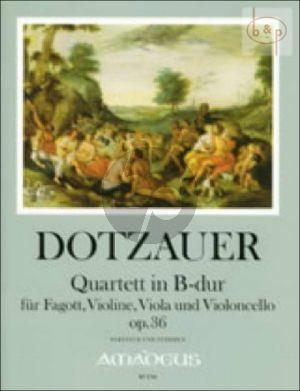 Quartet B-flat major Op.36 (Bsn.-Vi.-Va.-Vc.)