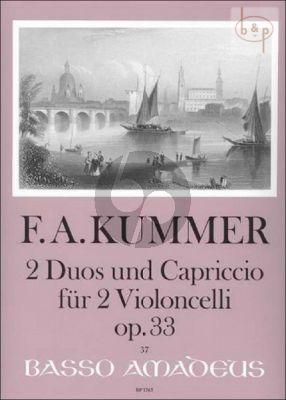 2 Duos und Capriccio Op.33