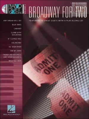 Broadway for Two Piano Duet