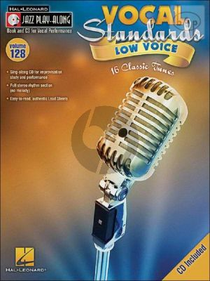 Vocal Standards (Jazz Play-Along Series Vol.128)
