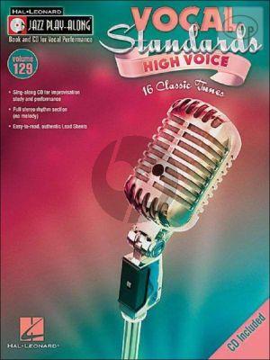 Vocal Standards (Jazz Play-Along Series Vol.129)