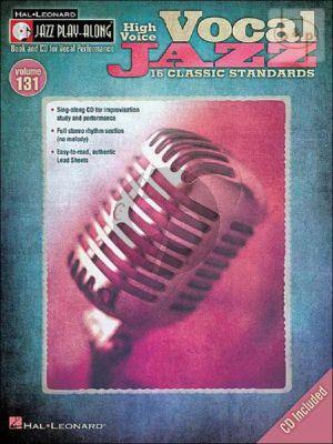 Vocal Jazz (Jazz Play-Along Series Vol.131)