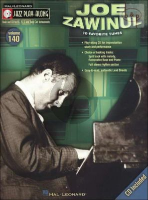 Favorite Tunes (Jazz Play-Along Series Vol.140)