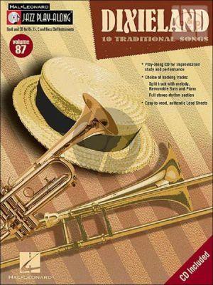 Dixieland (10 Traditional Songs) (Jazz Play-Along Vol.87)
