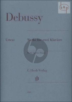 Werke fur 2 Klaviere (Score) (edited by E.G.Heinemann)