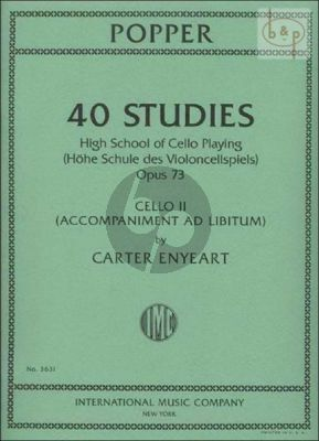 40 Studies (High School of Cello Playing) Op.73