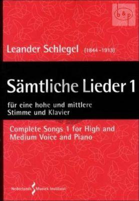Samtliche Lieder Vol.1