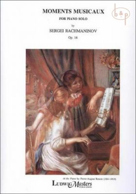 Moments Musicaux Op.16 Piano solo