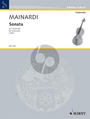 Mainardi Sonate Violonello solo (1959)
