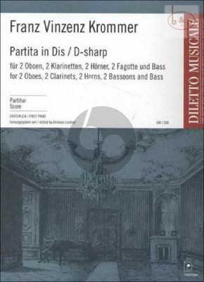 Partita in Dis (2 Ob.- 2 Clar.[Bb]- 2 Hrns[Eb]- 2 Bns.-Bass)