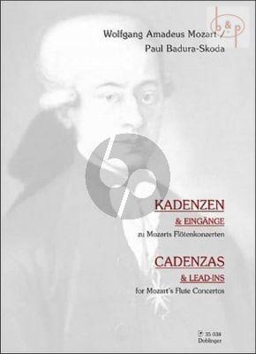 Kadenzen und Eingange zu Mozart's Flotenkonzerten