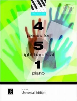 4 Pieces for 5 Right Hands on 1 Piano
