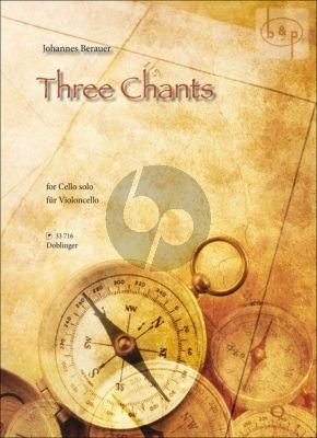 3 Chants Violoncello solo