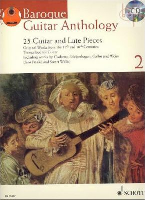 Baroque Guitar Anthology Vol.2 (25 Original Guitar and Lute Pieces from the 17th. and 18th. Centuries)