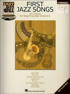 First Jazz Songs (Easy Jazz Play-Along Series Vol.1)
