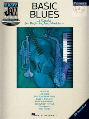 Basic Blues (Easy Jazz Play-Along Series Vol.4)