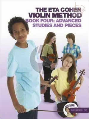 Violin Method Vol.4 Advanced Studies and Pieces
