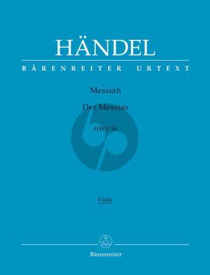 Messias / Messiah HWV 56 Soli-Chor-Orch. Viola Stimme