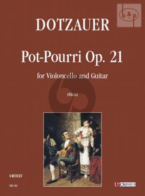 Pot-Pourri Op.21 Violoncello-Guitar