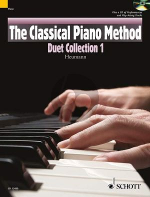 Heumann The Classical Piano Method Duet Collection 1 (Bk-Cd)