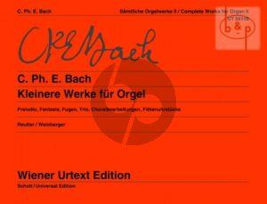 Samtliche Orgelwerke Vol.2 Kleinere Werke (edited by Jochen Reutter)