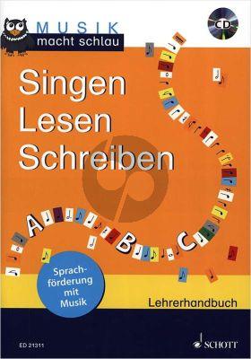 Bossen Singen-Lesen-Schreiben (Sprachforderung mit Musik) (Lehrerhandbuch) (Bk-Cd) (80 Pag.) (germ.)