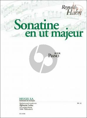Sonatine C-major Piano seule