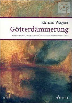 Gotterdammerung WWV 86d (Vocal Score)