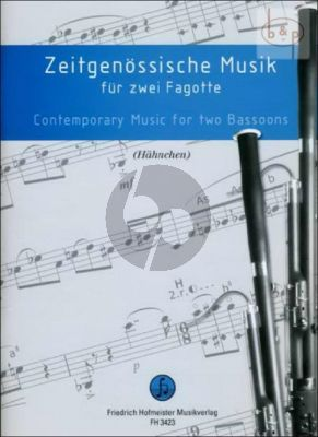 Zeitgenossische Musik (Contemporary Music) 2 Fagotte
