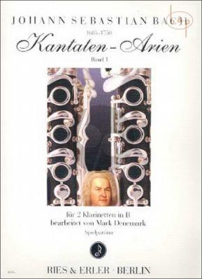 Kantaten-Arien Vol.1 (2 Clar.[Bb])