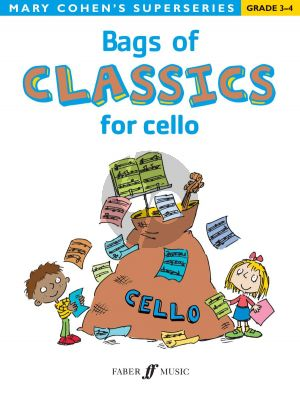 Cohen Bags of Classics for Cello (grades 3 - 4)