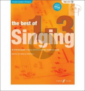 The Best of Singing grades 1 - 3 (High Voice-Pi.)
