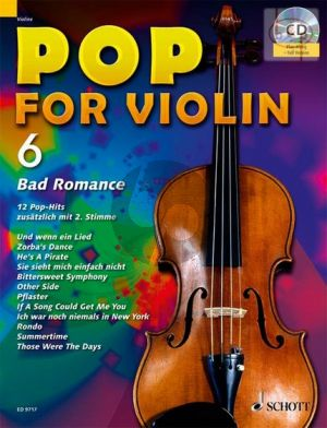 Pop for Violin Vol.6 Imagine (12 Pop Hits with a 2nd.violin)