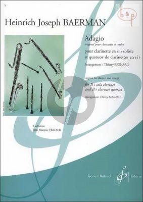 Adagio (Clar.Soliste[Bb]- 4 Clar.[Bb])