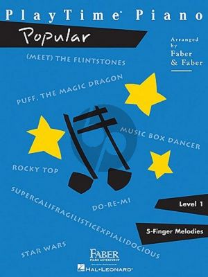 Faber Playtime Piano Popular  Level 1