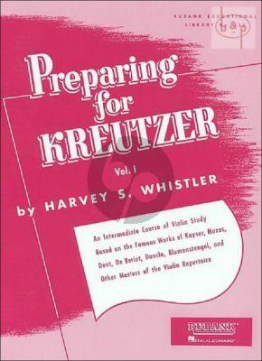 Preparing for Kreutzer Vol.1 for Violin