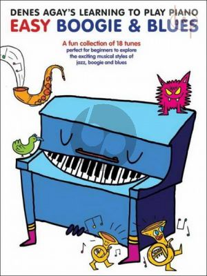 Learning to Play Piano: Easy Boogie & Blues