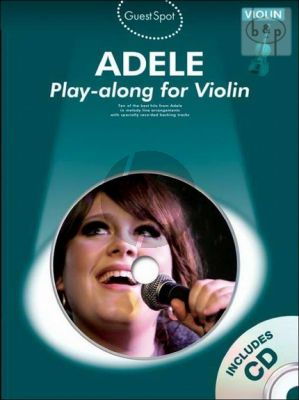 Guest Spot Adele Violin Play-Along