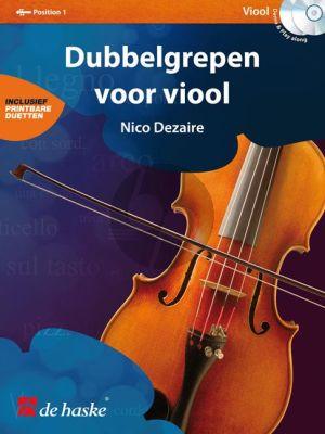 Dezaire Dubbelgrepen voor Viool (Bk- 2 CD's) (1.Pos.)