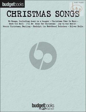 Budgetbooks Christmas Songs