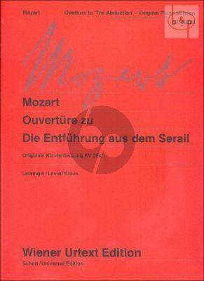 Die Entfuhrung aus dem Serail Ouverture KV 384 / 1 (Leisinger-Levin)