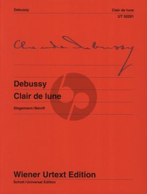 Debussy Clair de Lune Piano solo (edited by Michael Stegemann)