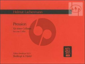 Pression for one Cellist