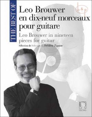 Best of Leo Brouwer (19 Morceaux)