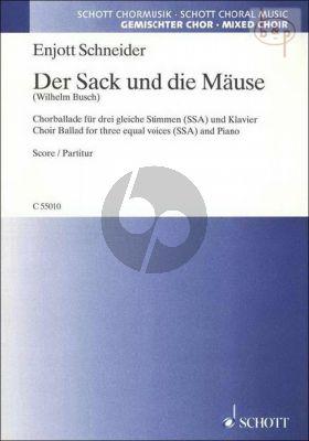 Der Sack und die Mause (Wilhelm Busch)